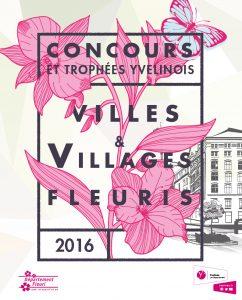 concours ville fleurie yvelines 2016 plaquette création design publicité versalis agence de communication digitale versailles paris web evenementielle