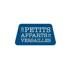logo petits apparts de versailles plaquette création design publicité versalis agence de communication digitale versailles paris web evenementielle