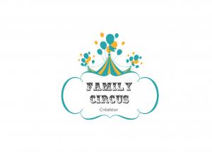 logo famili circus plaquette création design publicité versalis agence de communication digitale versailles paris web evenementielle