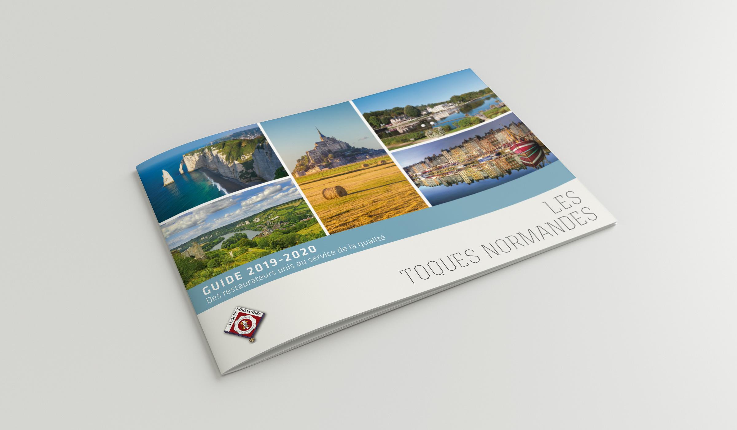 Brochure les Toques Normandes couverture