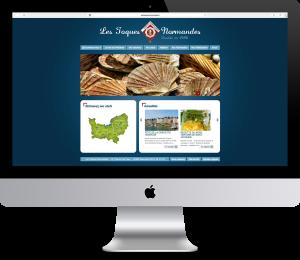toques normandes site wordpress versalis agence de communication digitale versailles paris web evenementielle