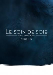 le soin de soie plaquette création design publicité versalis agence de communication digitale versailles paris web evenementielle