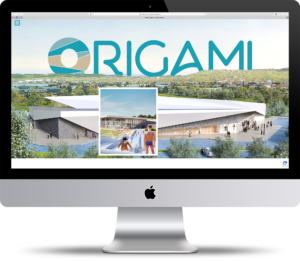 Site internet de la piscine Origami