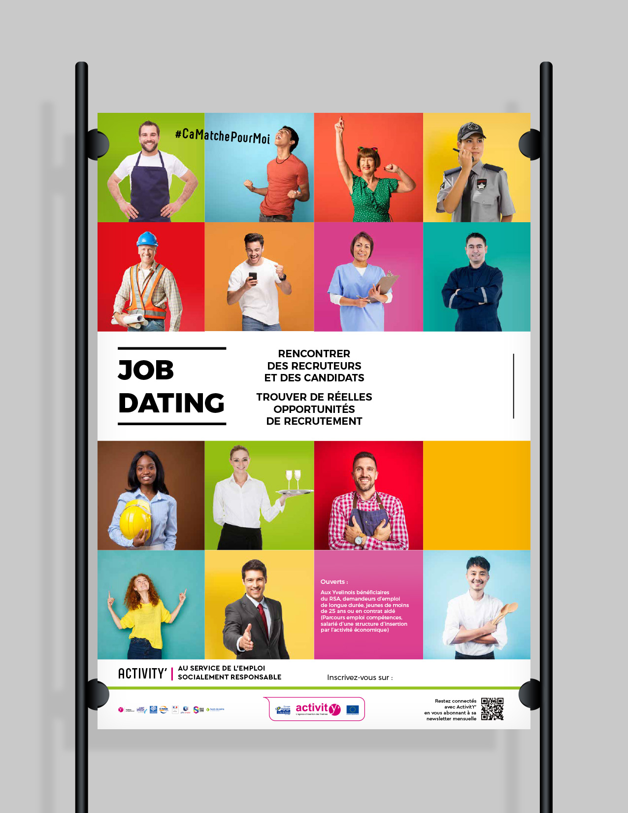 Affiche Job Dating ActivitY'