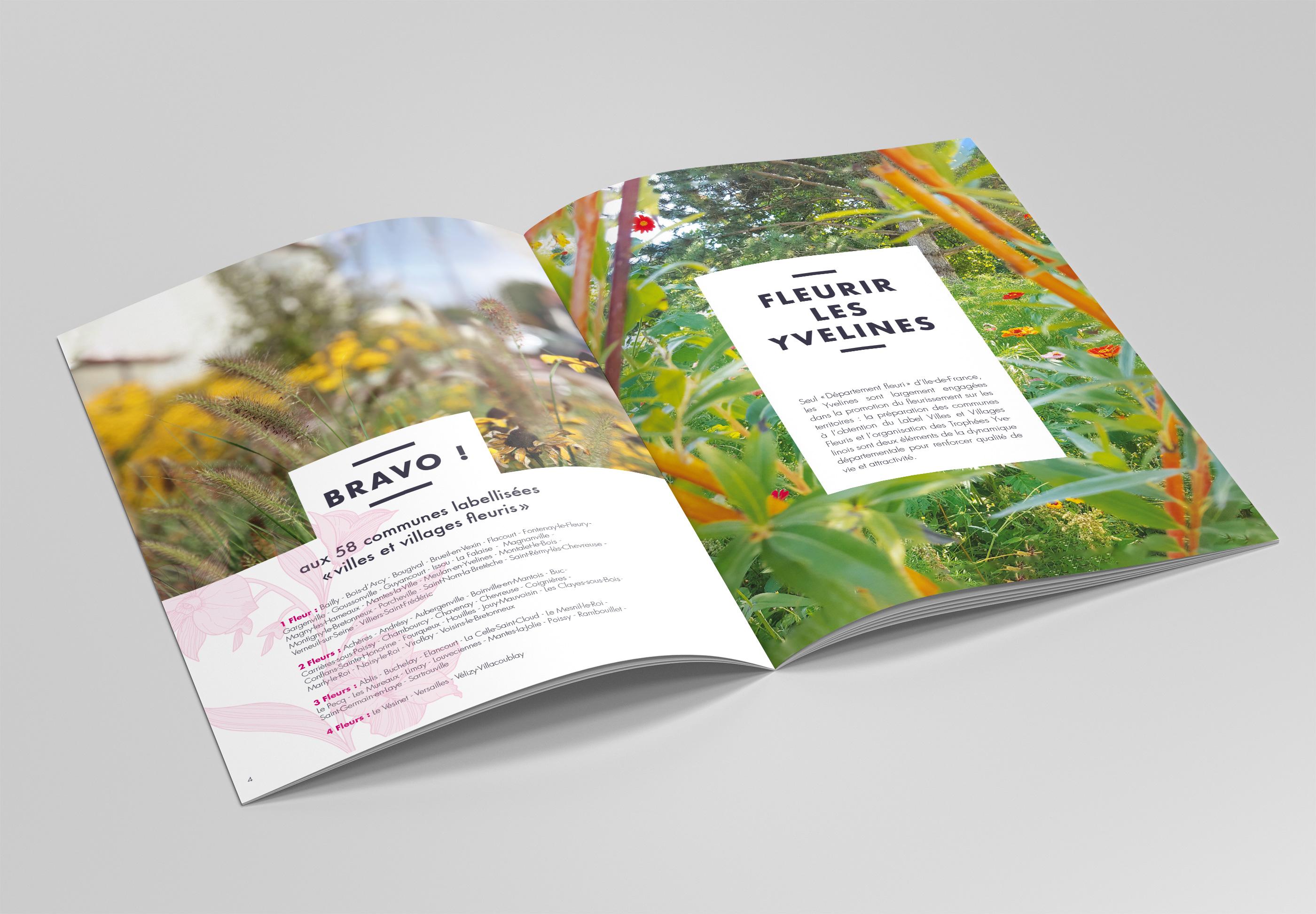brochure villes et villages fleuris intérieur