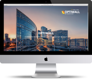 Site Optiwall - accueil